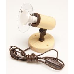 ARGUS 50032/FL  reflektorové svítidlo dřevěné - nástěník s flexo šňůrou
