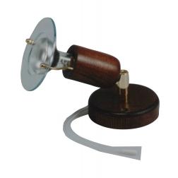 ARGUS 50034/VT  reflektorové svítidlo dřevěné - nástěník s tahovým vypínačem