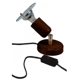 ARGUS 50034/FL  reflektorové svítidlo dřevěné - nástěník s flexo šňůrou