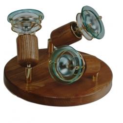ARGUS 50031/TR  reflektorové svítidlo dřevěné - trio