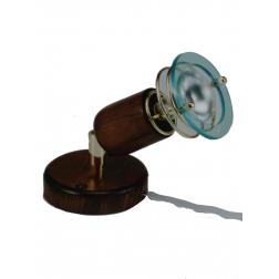 ARGUS 50031/VT  reflektorové svítidlo dřevěné - nástěník s tahovým vypínačem